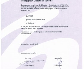 BzGLU -Diploma PDV