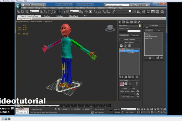 DBuzzi -3DS Max -Modeling -Animation -Cartoon character 71