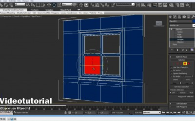 DBuzzi -3DS Max -Modeling -Edit Poly -Building Window